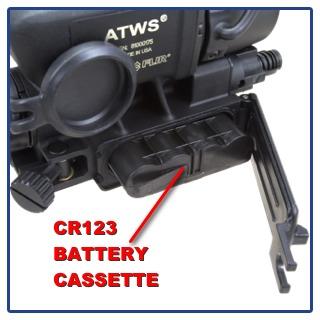 CR123 BATTERY CASSETTE DOOR