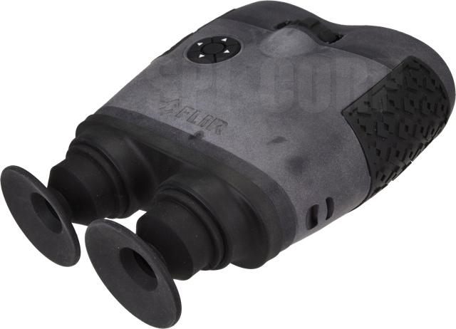 eyepiece of the FLIR binocular