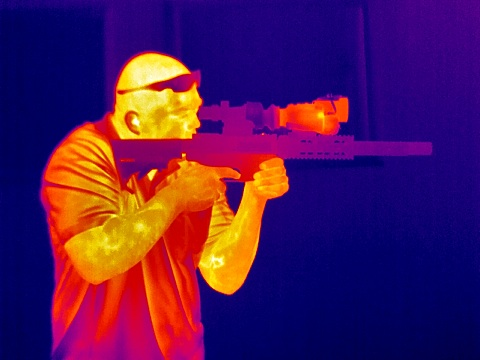 color thermal analysis of the M1-D thermal imager