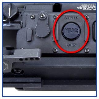 NUC is non uniformity correction calibration button on the scope