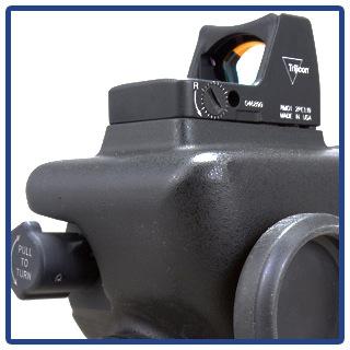 Trijicon RMR mount on the t60 scope