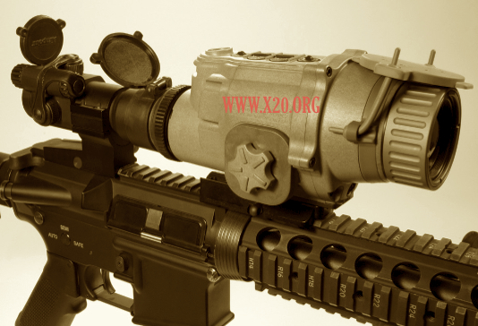 L3 LWTS Thermal Rifle Scope
