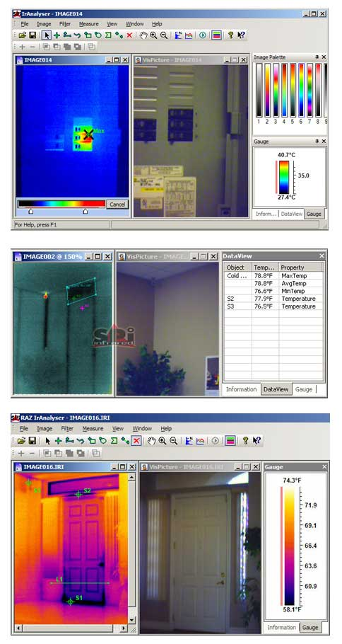 A look at the RAZ-IR NANO HT Infrared Camera Software