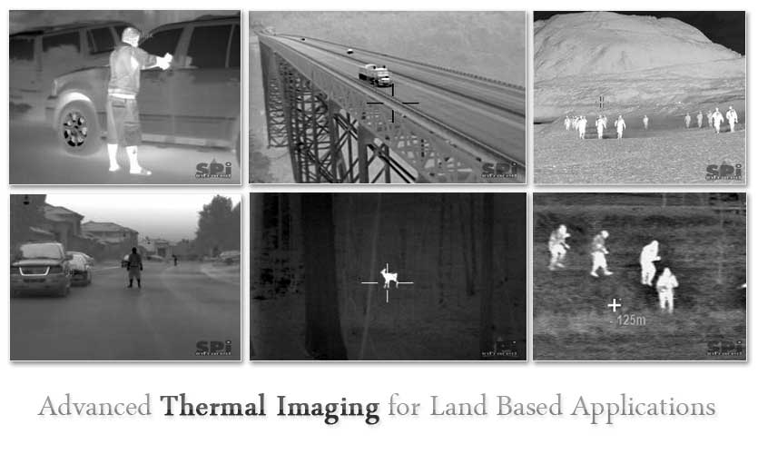 Actual Thermal Images from the ISI Surveyor Thermal Imager System
