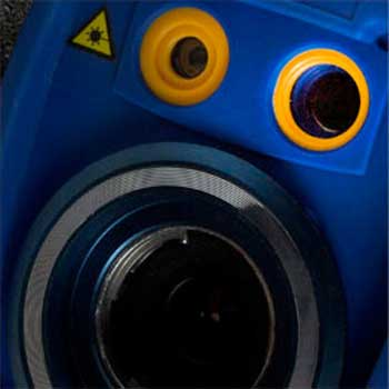 The CMOS camera of the RAZ-IR MAX infrared camera system