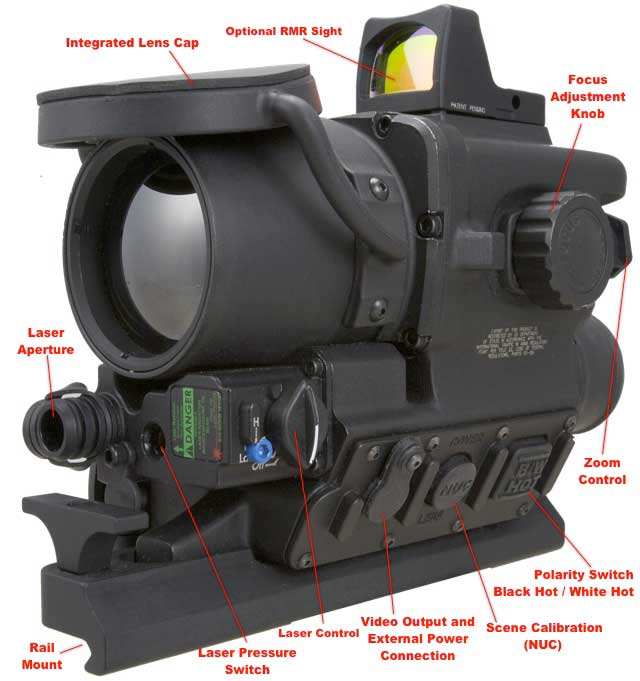 The FLIR T-60 AWTS FLIR Thermal Scope Features