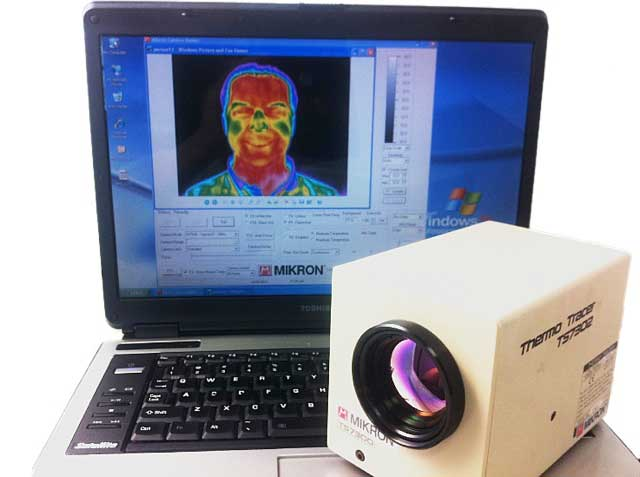 The Mikron infrared camera software interface