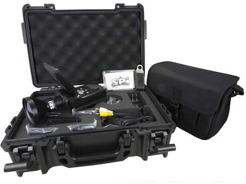 The complete Raptor-X Small Infrared Camera kit
