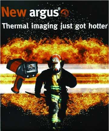 Firefighters trust the Argus 4 HR 320 Infrared Camera