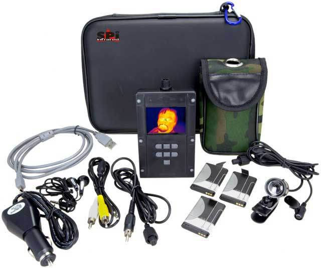 The complete Waterproof XDVR thermal imager kit