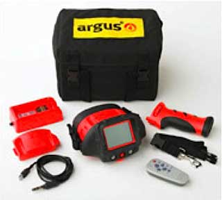 The complete Argus 4 Fire Fighting Infrared Camera Kit