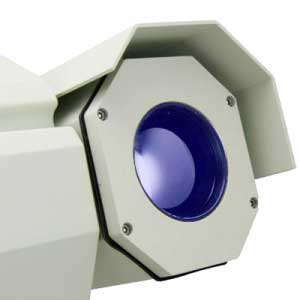 Close view of the M5 infrared camera optics