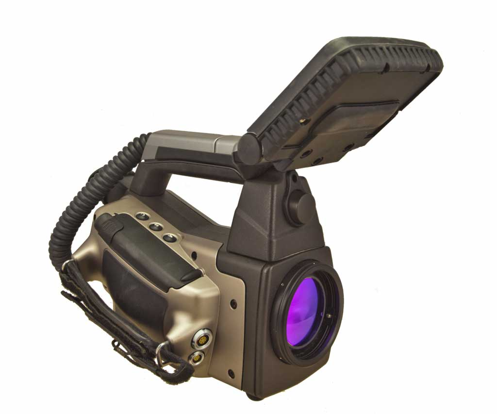 FLIR P40 infrared camera on an angle view