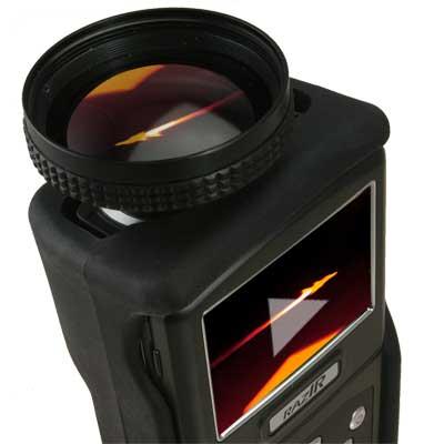 RAZ-IR NANO HT infrared camera video lens