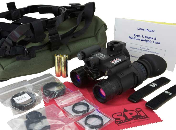 The complete P15 night vision kit
