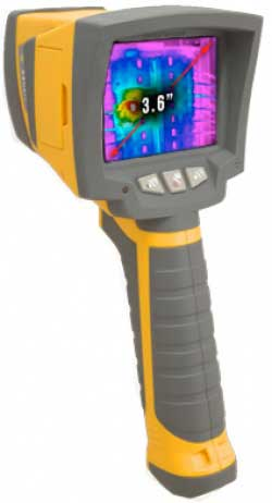 A large photo of the RAZ-IR MAX infrared camera