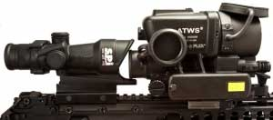 The T60 clip on thermal rifle scope