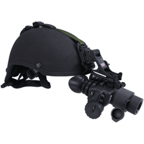 T7 thermal goggles mounted on a helmet