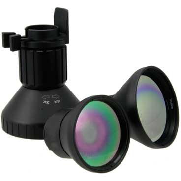 T7 thermal goggles zoom lenses