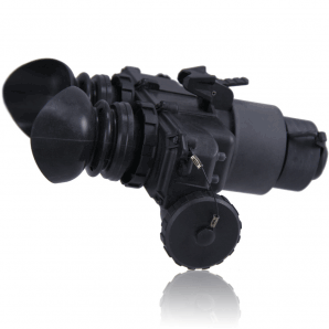 A side view of the T7 Thermal Goggle/Night Vision system