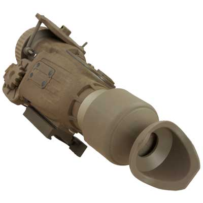 A sideview of the X27 thermal scope