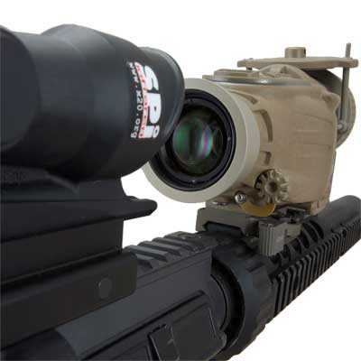 An image of the X27 thermal rifle scope optics