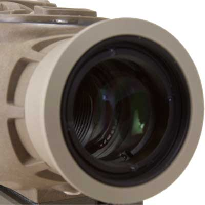 An image of the X27 thermal rifle scope's internal reticle