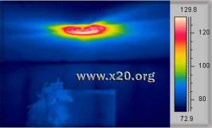 Infrared thermography detects water leaks & moisture