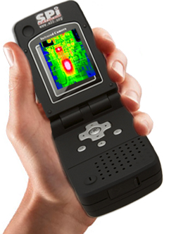 RAZ IR Pro infrared camera Hand held design