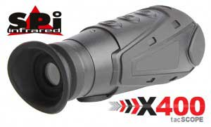 The new x400 TacScope handheld thermal imaging camera