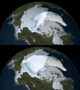 arctic ice is disappearing