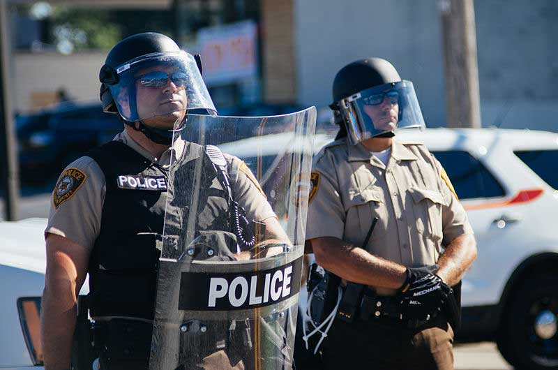 Law Enforcement Infrared Equipment Sent to Police near Ferguson MO as Part of Gov't Surplus Program