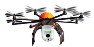 Drone Uav flir thermal camera gimbal ball