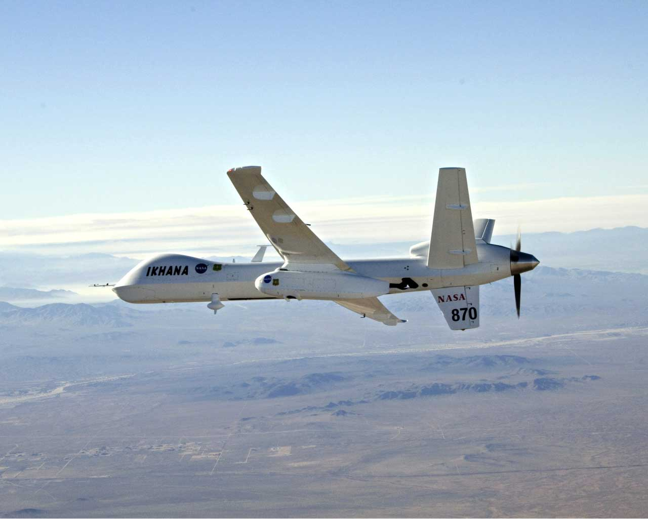 infrared cameras on drones (NASA's Ikhana drone for one) will be monitoring Orion Capsule's re-entry during the unmanned test flight on December 5