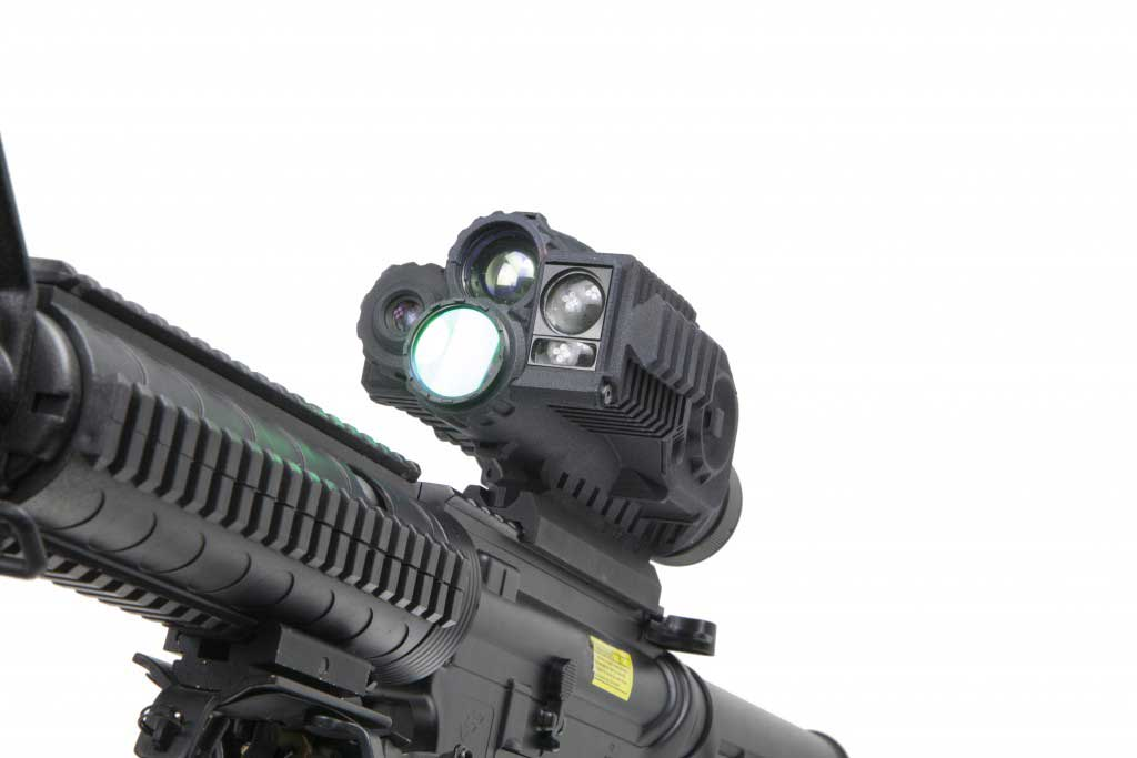 sensor IR fused scope sight