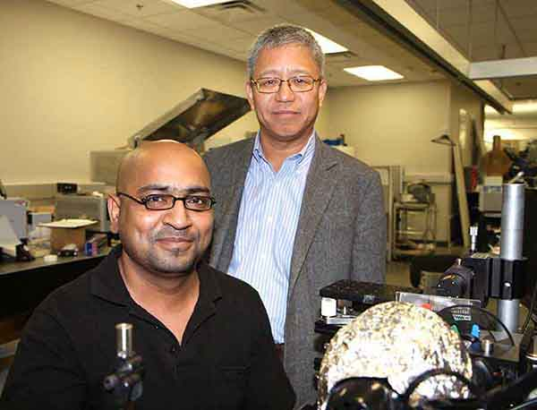 Zeshan Ahmad & Dr Kenneth O, the men behind the far infrared imaging research