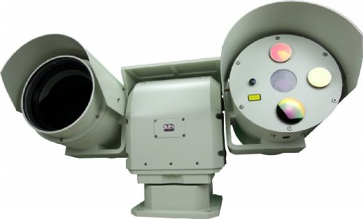 LONG RANGE FLIR THERMAL IMAGING IR PTZ PAN TILT DUAL SENSOR INFRARED CAMERA