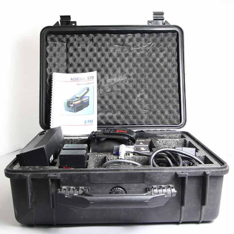 Agema Thermo Vision 570 FLIR Camera - Used IR Camera in the hard case