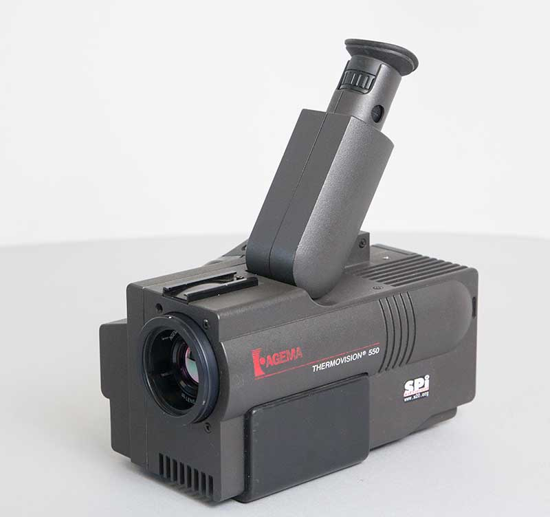 Thermo Vision 550 used Agema thermal imaging camera -8242