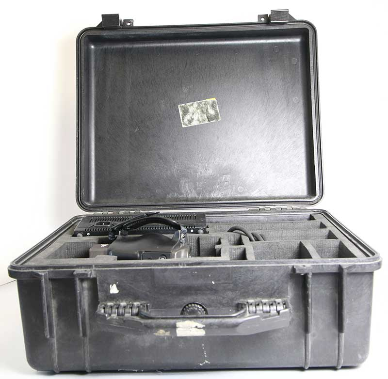 Thermo Vision 550 used Agema thermal imaging camera -8242 in its case