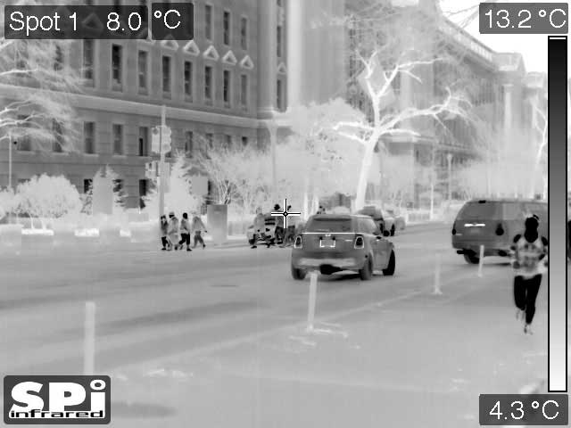 LRTS-15 thermal surveillance of a Washington, DC