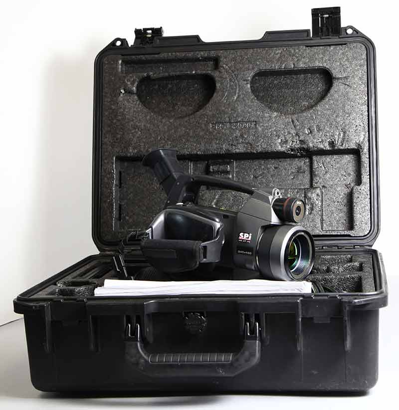 P620 used infrared camera hard case