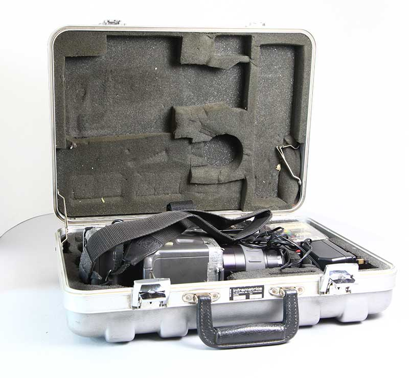 Thermacam PM 200 used FLIR system with kit & case