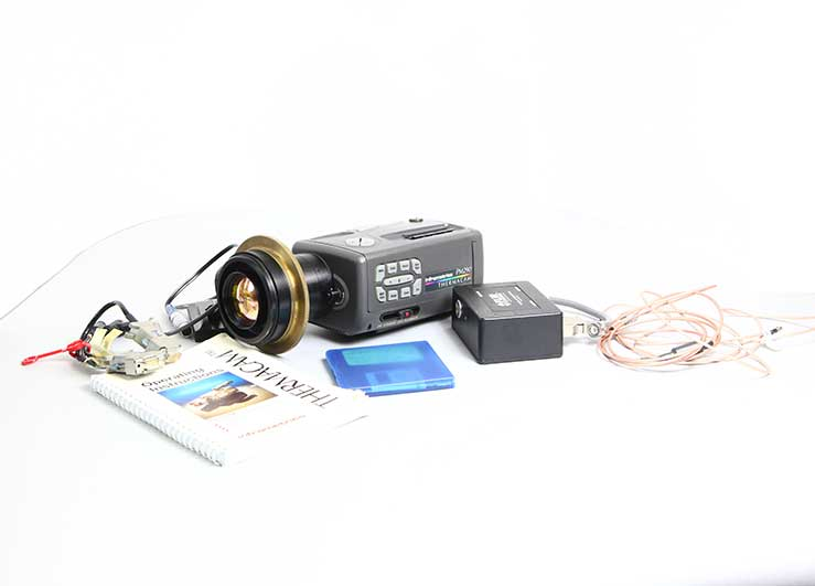 PM290-9100 used FLIR Thermacam with accessories