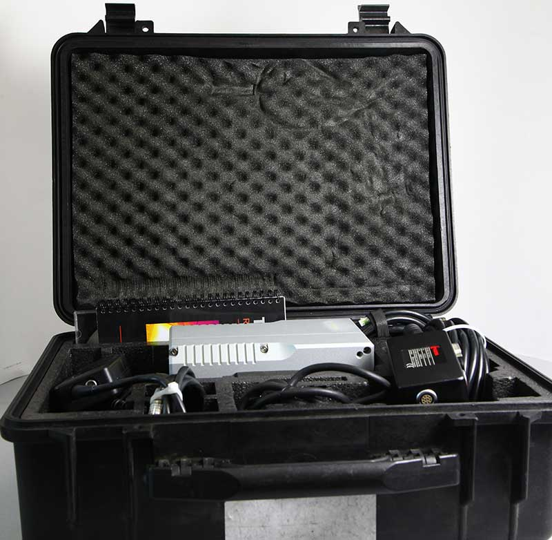 FLIR Thermacam SC500 kit and case