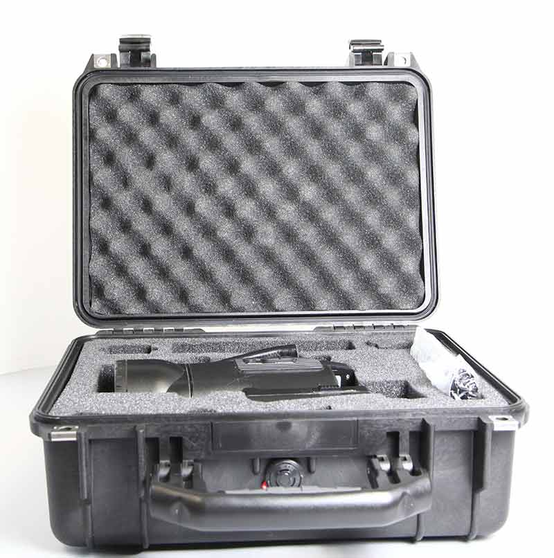 DTIS-500 Used Palm IR Infrared Camera in case