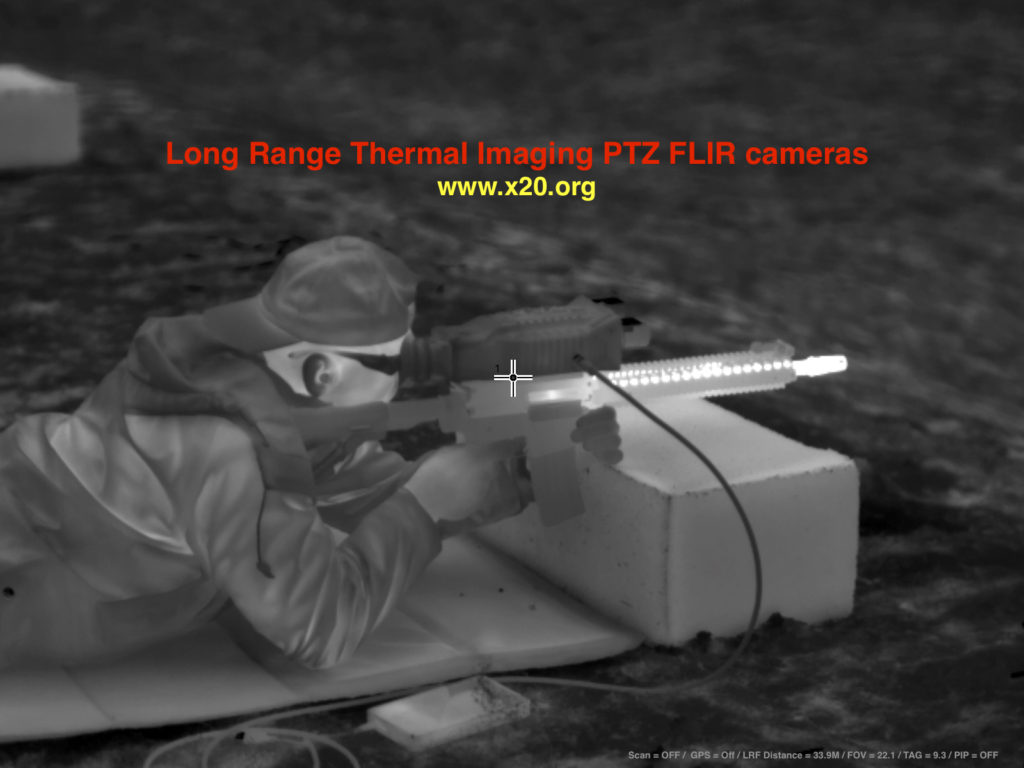 Long Range PTZ FLIR Thermal Imaging Cameras