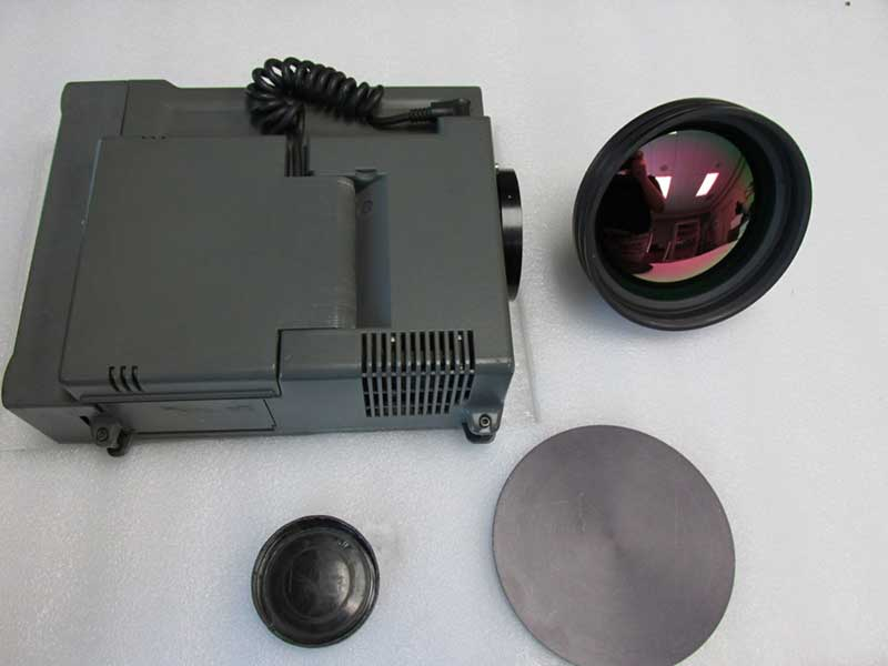 Micron TH5104 used midwave thermal imaging camera with lenses & lens caps