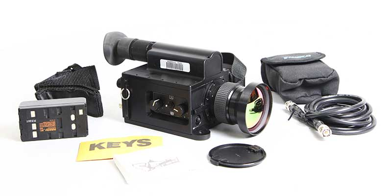 Milcam XP used thermal camera kit contents