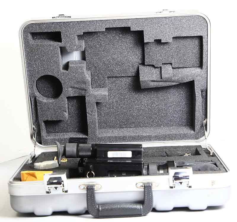 Milcam XP used thermal camera kit and case